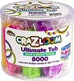 Cra-Z-Art CRA-Z-Loom Ultimate Tub 8000 Latex...