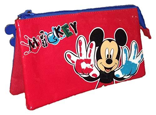 Portatodo Mickey Disney Painting 3 compartimentos
