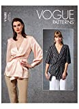 Vogue Pattern V1680E5 Damen-Top E5 (44-46-48), Papier, verschieden, (14-16-18-20-22)