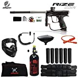 Maddog Dye Rize CZR Corporal HPA Paintball Gun Package - Black/Grey