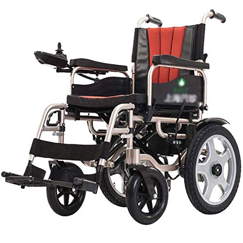 Affordable XSARACH Electric Wheelchair, Foldable Power Compact Mobility Aid Wheelchair, Lightweight ...