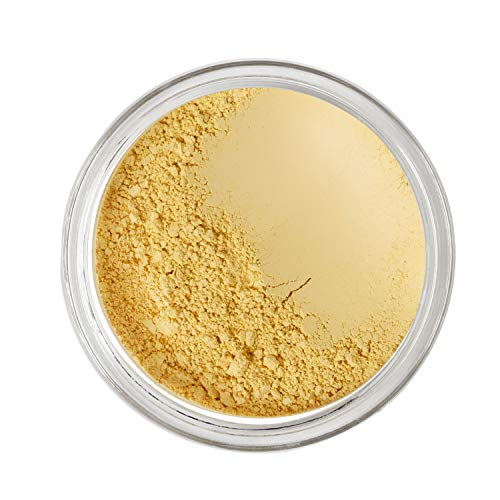 Bodylife Beauty Makeup - Corrector de maquillaje natural (2,5 g), color amarillo