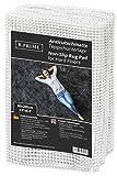 B.PRIME 80x200cm Antidérapant et Protection pour Tapis Universal I sous-Tapis I Découpable aux Ciseaux