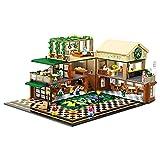 Laytte Ocio Coffee House Building Block Model Set DIY Big Building Blocks Puzzle Bloques De Construcción Montaje Pequeñas Partículas (2095Pcs)