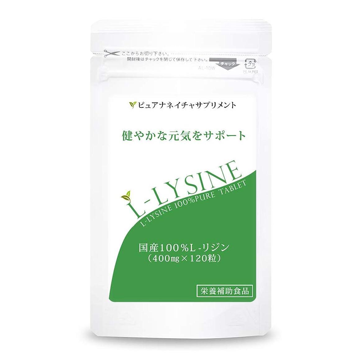 参加するオーラルエネルギー国産 L-リジン 1袋 (120粒 約1か月分)