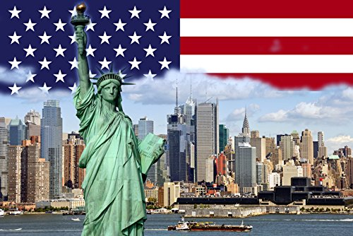 USA NEW YORK KÜHLSCHRANKMAGNET