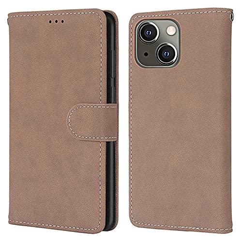 nancencen Kompatibel mit Nokia Lumia 625 Handyhülle,Wallet Karten Slot Vintage Gefrostet Flip Cover Schutzhülle (Anti-Fall) für Nokia Lumia 625 - Beige