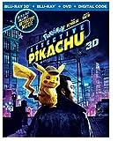 Pokémon Detective Pikachu 3D Limited Edition (3D Blu-ray+Bluray+DVD+Digital)