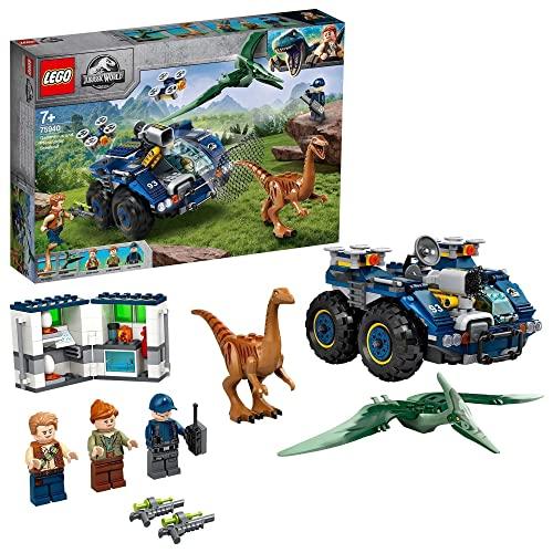 lego city word LEGO Jurassic World Evasione di Gallimimus e Pteranodonte