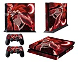 EBTY-Dreams Inc. - Sony Playstation 4 Original (PS4 Original) - Bleach Anime Hollow Kurosaki Ichigo Vinyl Skin Sticker Decal Protector