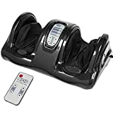 Best Choice Products Therapeutic Shiatsu Foot Massager Kneading and Rolling for Foot, Ankle, Nerve Pain w/High Intensity Rollers, Remote Control, 4 Programs, 3 Massage Modes - Black