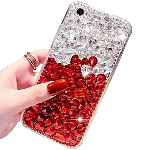 Best Review Of Bling Diamond Case for Samsung Galaxy A20E/A10E,Aearl 3D Homemade Luxury Sparkle Crys...