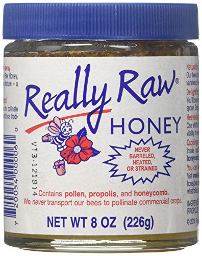REALLY RAW Raw Honey, 8 OZ
