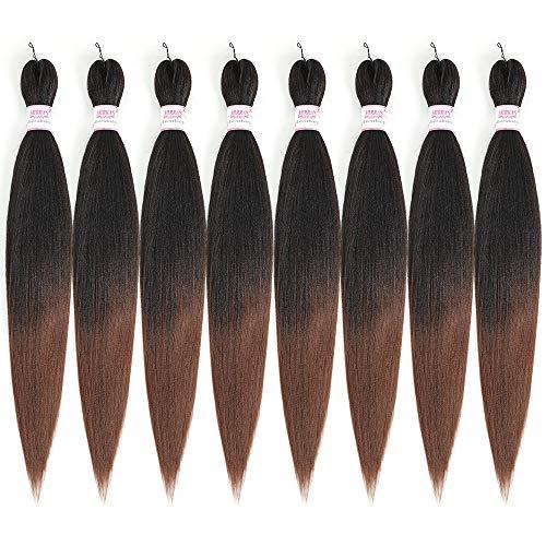 Braiding Hair Pre Stretched Easy Braid Ombre Expression Braiding Hair...