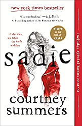 Sadie, Courtney Summers, ya contemporary, podcasts, roadtrip books, thriller, young adult, review
