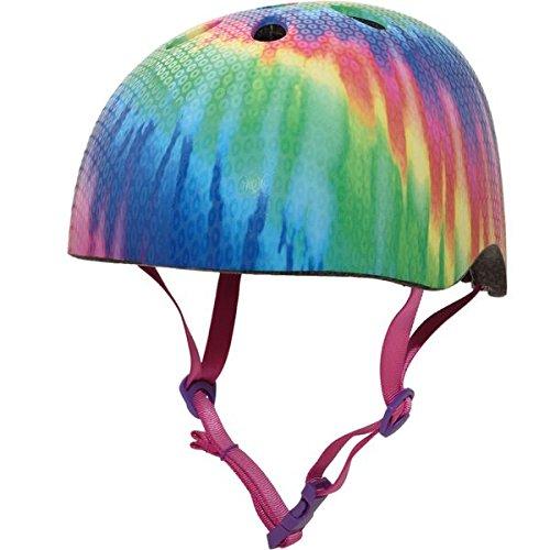 Krash Girls Bike Helmet, Free Spirit Tye Dye