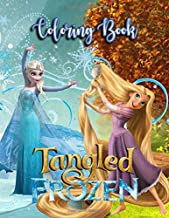 Tangled Frozen Coloring Book: 43 Illustrations   Exclusive Book   Ages 3-8