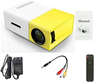 Mini Projector,Portable Projector for iPhone,Kids Gift,Small Outdoor,Led Video Projectors for Home Theater Movie with Hdmi...