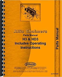 Allis Chalmers H3 Crawler Parts Manual