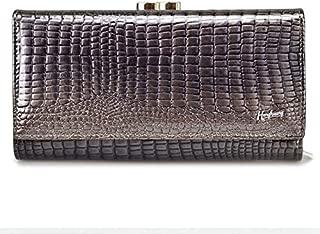 HH Womens Purses Lady Wallets Alligator Long Hasp Zipper Women Purse Ladies Clutch Bag Female Luxury Coin Card Holder Purse