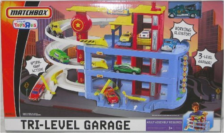 disfrutando de sus compras Mattel P4760 Matchbox - Garaje de tres plantas plantas plantas [Importado de Alemania]  calidad oficial