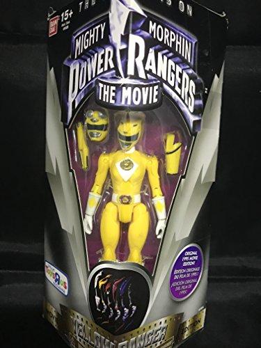 Bandai Mighty Morphin Power Rangers The Movie Yellow Ranger 5' Action Figure