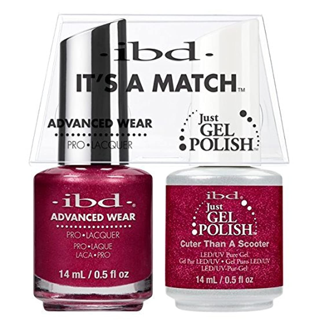 グローバル自宅で尊敬ibd - It's A Match -Duo Pack- Cuter Than a Scooter - 14 mL / 0.5 oz Each