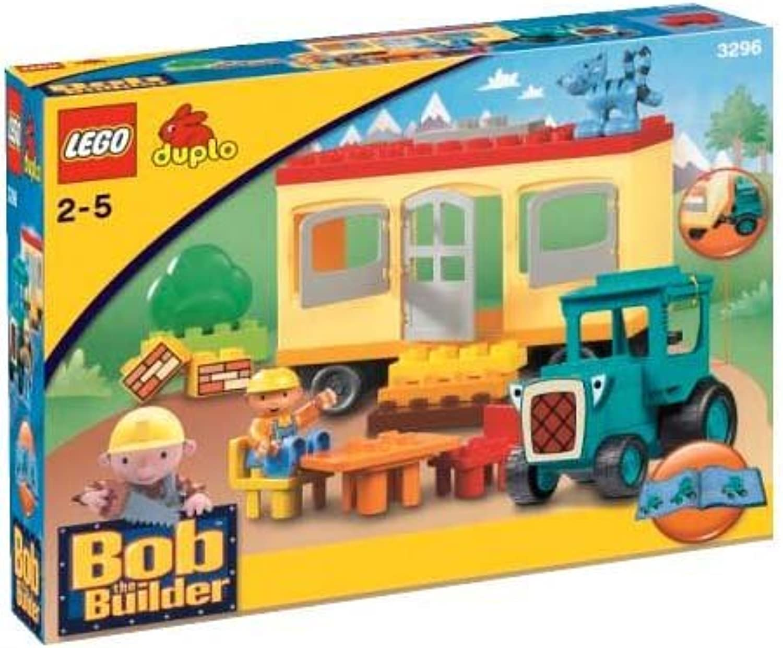 Der Builder Travis und Anhnger 3296 mit Lego Bob arbeiten