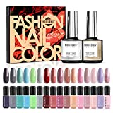 Best Nail Polish Sets - Modelones Gel Nail Polish Set - 16 Nude Review