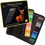 Black Widow Monarch Colored Pencils For Adults - 48 Coloring Pencils With Smooth