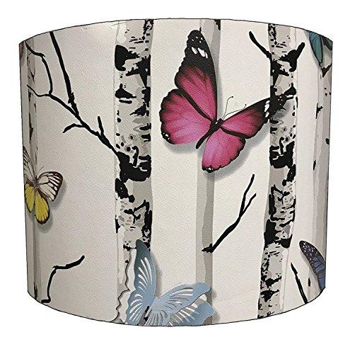 DELPH DESIGN LIGHTING LTD 25,4cm Emperors Garden Butterfly lampshade for A Table Lamp