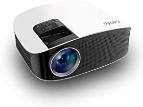 GAOAG Mini Projector - Upgraded Projector +50% Lumens LED Full HD Mini Portable Projector 120