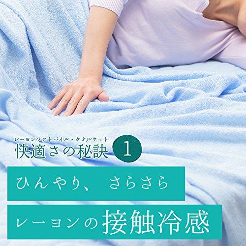 アイリスオーヤマ『涼感タオルケット』