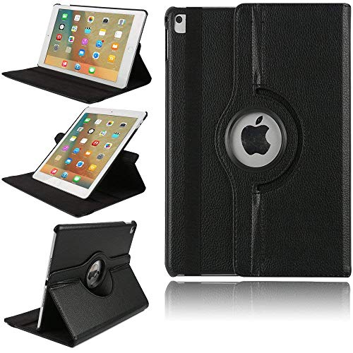 Best Review Of iPad Pro 10.5 Smart Cover, TechCode 360 Degree Rotating PU Leather Slim Fit Tablet Pr...
