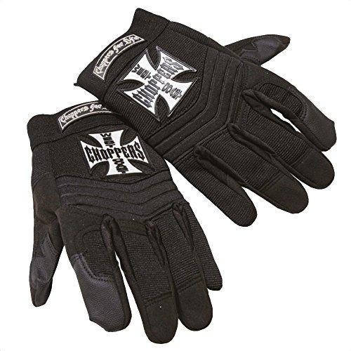 West Coast Choppers Riding Gloves Pay Up Sucker, Farbe:black;Größe:XL