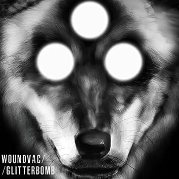 Woundvac // Glitterbomb Split Cassette