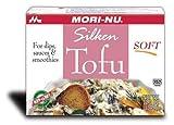 Mori Nu Tofu, suave, 340 g x 12, sin OMG, proteína vegetal saludable para el corazón