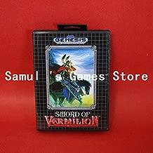 Value-Smart-Toys - Sword of Vermilion Boxed Version 16bit MD Game Card For Sega Genesis