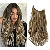 Wavy Curly Highlight Hair Extension