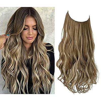 Wavy Curly Highlight Hair