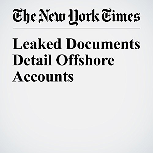 Leaked Documents Detail Offshore Accounts audiobook cover art