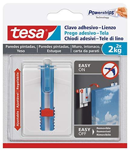potente para casa Uña adhesiva tesa 1, blanca, talla única