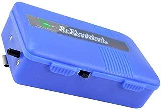 Timiy Operated Portable Aquarium Battery Backup Air Pump Emergency (Blue)