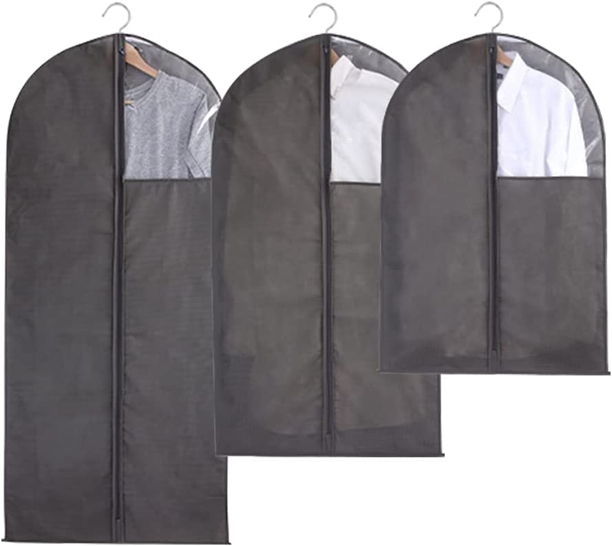 Quzzion Online limited product Hanging Garment Bag Lightweight Sale Bags Pl Clear dust-Proof