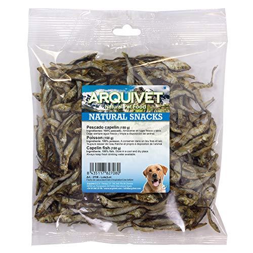 Arquivet Pescado capelín - Natural Snacks perros - 150 g