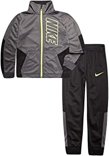 Toddler Boys Cool Grey Track Suit Athletic Jacket & Pants Set