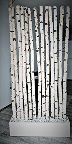 Raumtrenner aus Birkenholz