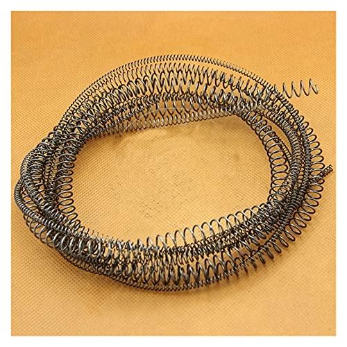 Étendue ressort de ressort comprimé de petit fil à petit fil d'extension d'extension de la compression de la compression, diamètre de fil de 0,5 mm * (3-10) mm de diamètre * 1000mm de longueur, 2 PCS,