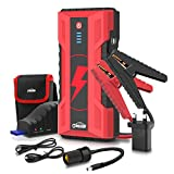 Oasser Portable Car Jump Starter - 1000A Peak 15000mAh Power Pack Auto Battery
