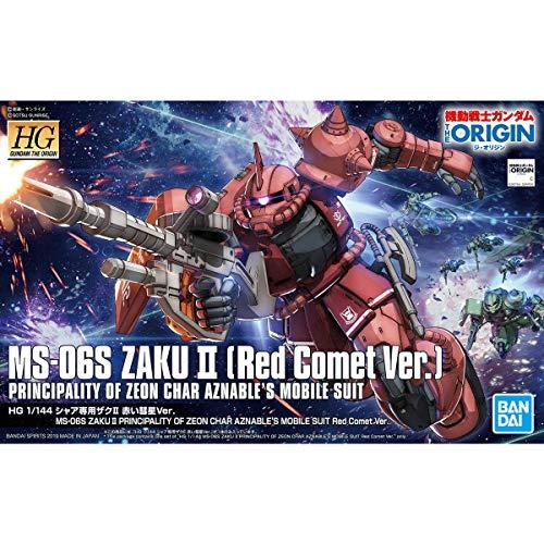 HG1/144シャア専用ザクII赤い彗星Ver.